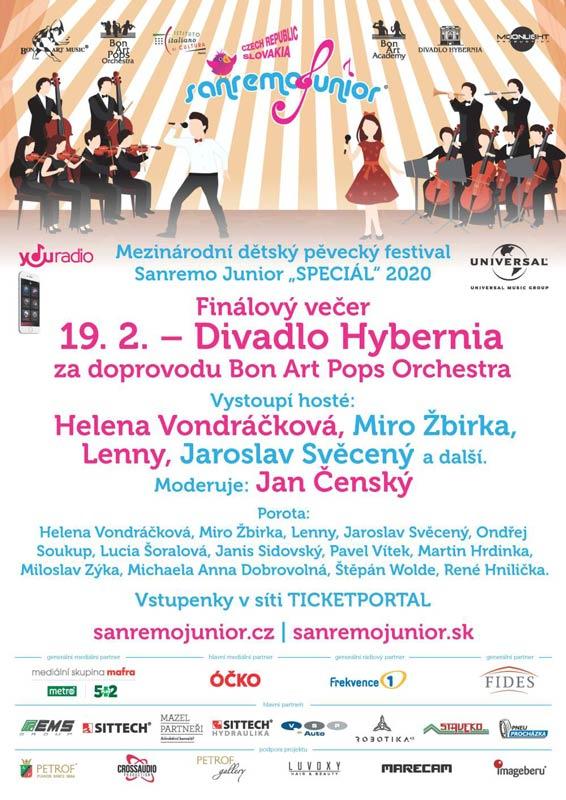 picture Sanremo Junior CZ/SK - finálový galavečer