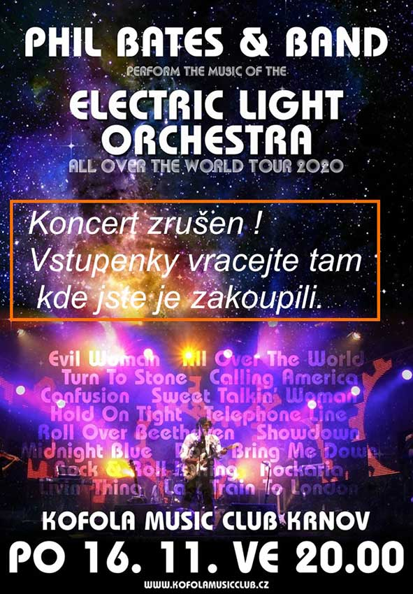 picture ELECTRIC LIGHT ORCHESTRA & Phil Bates band