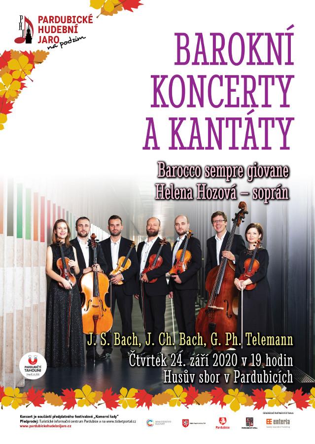 picture Barokní koncerty a kantáty
