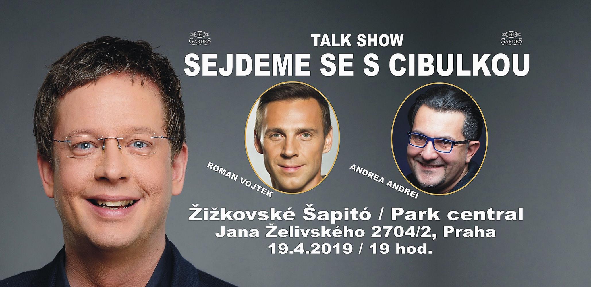 picture SEJDEME  SE S CIBULKOU, Žižkov