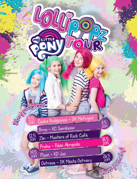 picture LOLLIPOPZ - My Little Pony Tour