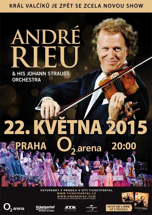 picture André Rieu & Orchestra – Tour 2015