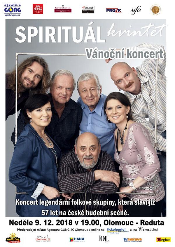 picture SPIRITUÁL KVINTET - Vánoční koncert