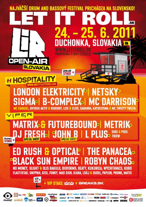 picture LET IT ROLL Open Air 2011 CZ / SK COMBO TICKET