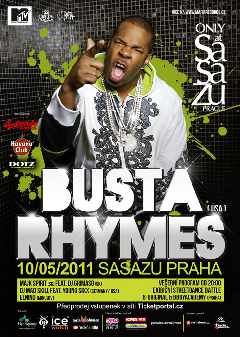 picture BUSTA RHYMES /USA/