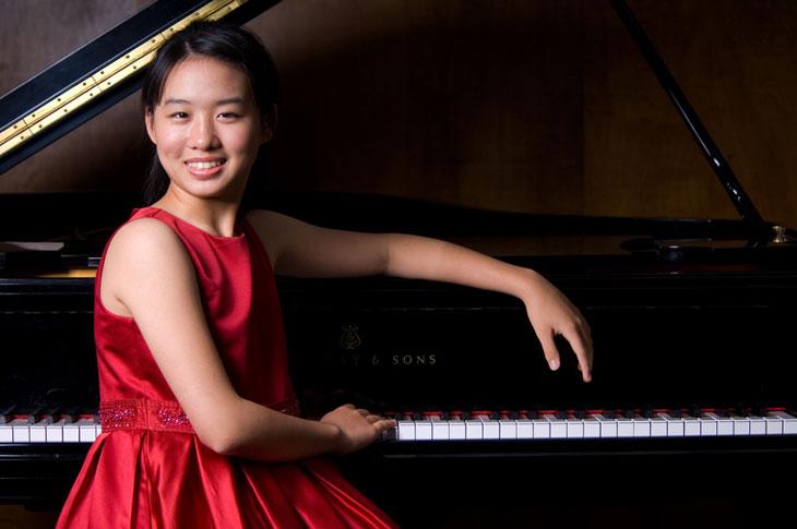 picture Filharmonie mladých Praha, Sarina Zhang