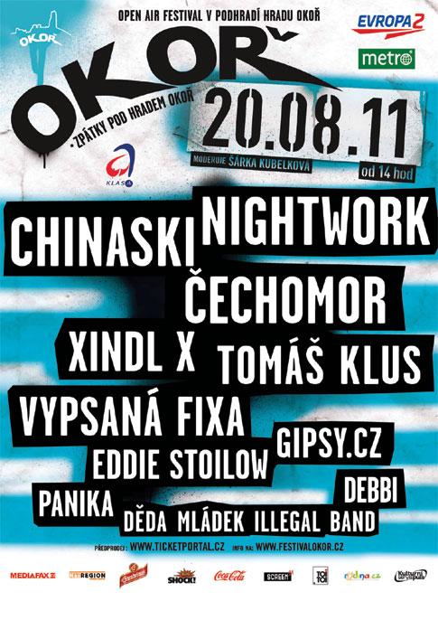 picture Open air festival OKOŘ 2011