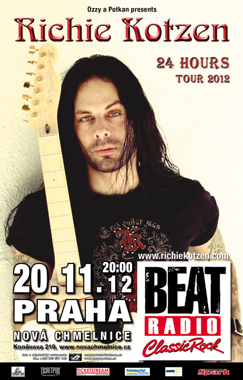 picture RICHIE KOTZEN (USA): 24 Hours Tour 2012
