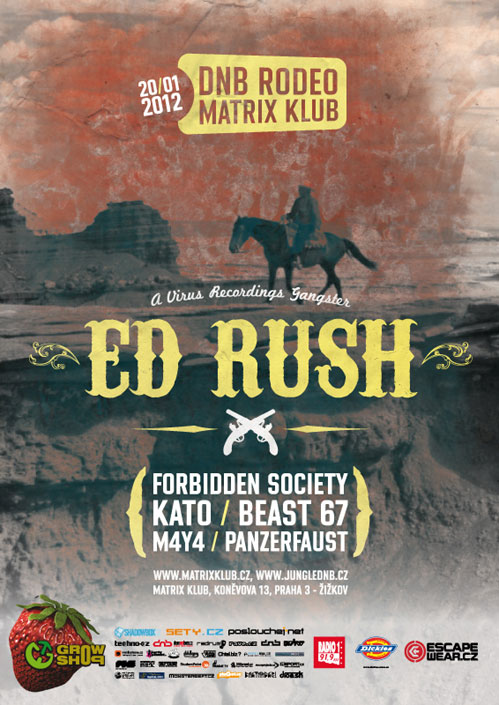 picture DNB RODEO: ED RUSH (UK)