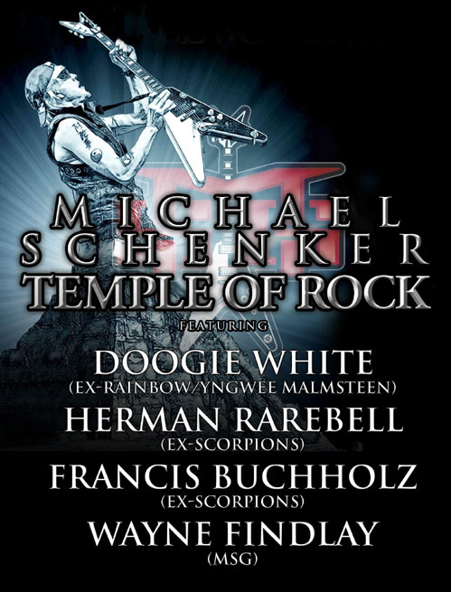 picture MICHAEL SCHENKER: Temple Of Rock Tour 2012