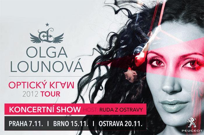 picture Olga LOUNOVÁ - Optický klam - TOUR 2012