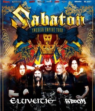 picture SABATON (Swe): Swedish Empire Tour