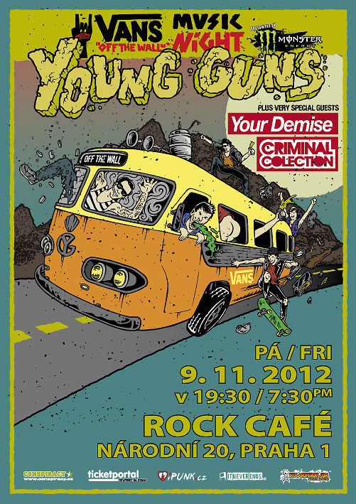 picture YOUNG GUNS (UK), Your Demise, Criminal Colection