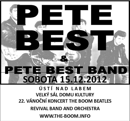 picture The Boom Beatles Revival Band + PETE BEST