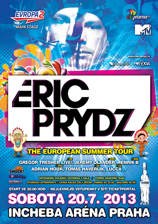 picture ERIC PRYDZ // THE EUROPEAN SUMMER TOUR