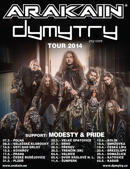 picture ARAKAIN DYMYTRY TOUR 2014