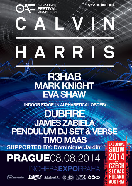 picture CALVIN HARRIS - Only Open Air Festival