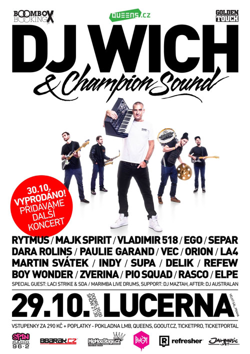 picture DJ WICH X CHAMPION SOUND