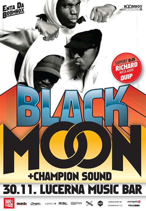 picture BLACK MOON & CHAMPION SOUND / USA