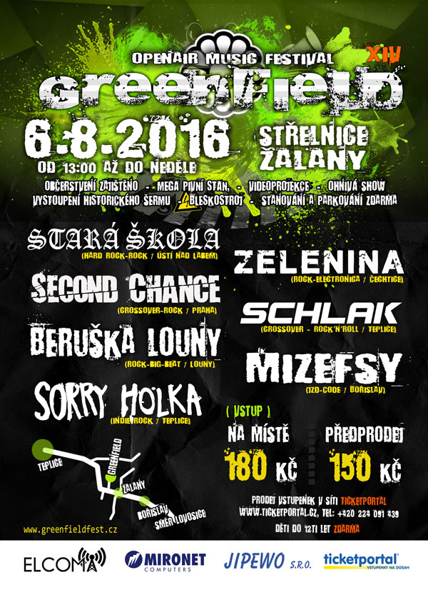 picture GreenField OPENAIR MUSIC FESTIVAL ŽALANY