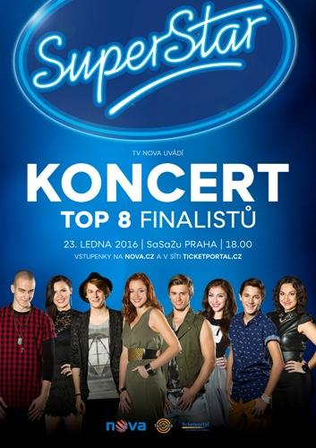 picture Koncert TOP 8 finalistů SuperStar