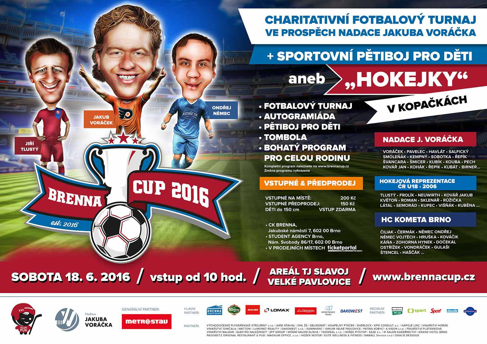 picture Brenna Cup 2016 – Charitativní fotbalový turnaj