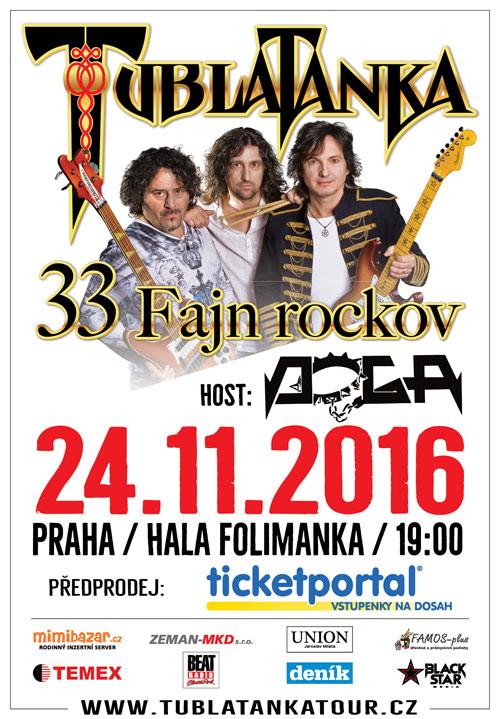 picture TUBLATANKA 33 ROCKOV TOUR 2016
