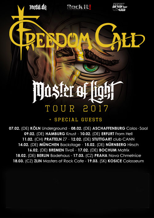 picture FREEDOM CALL (Ger): Master of Light Tour
