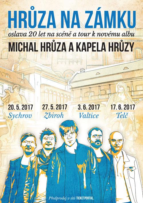 picture HRŮZA NA ZÁMKU - MICHAL HRŮZA TOUR 2017