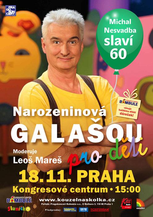 picture Narozeninová Galašou - Michal Nesvadba slaví 60!