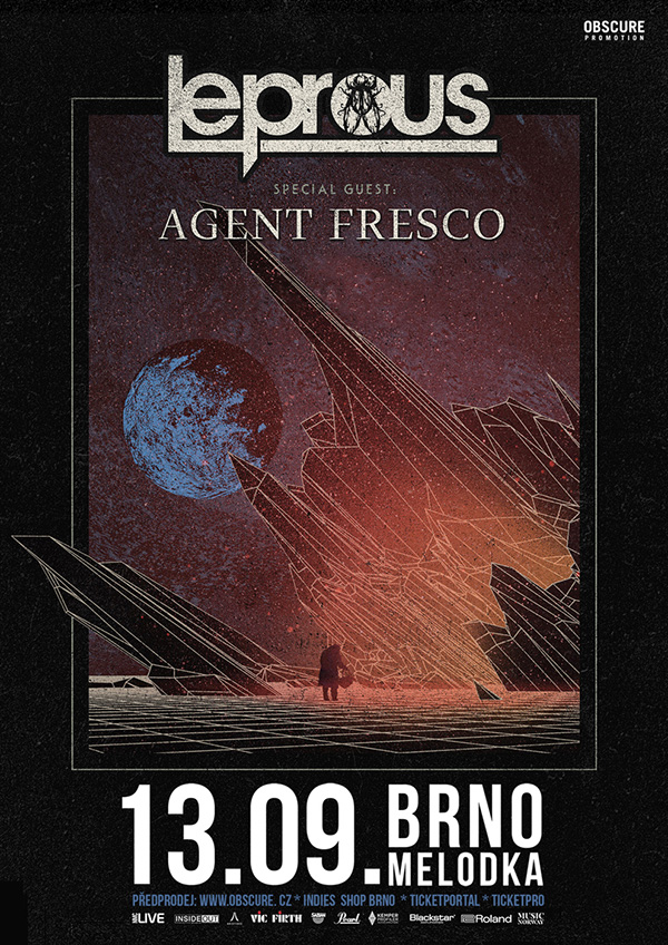 picture LEPROUS (NO) w/ Agent Fresco (Is)