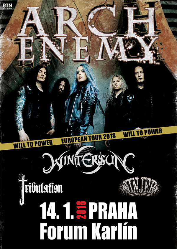 picture ARCH ENEMY (SE) - WILL TO POWER EU TOUR