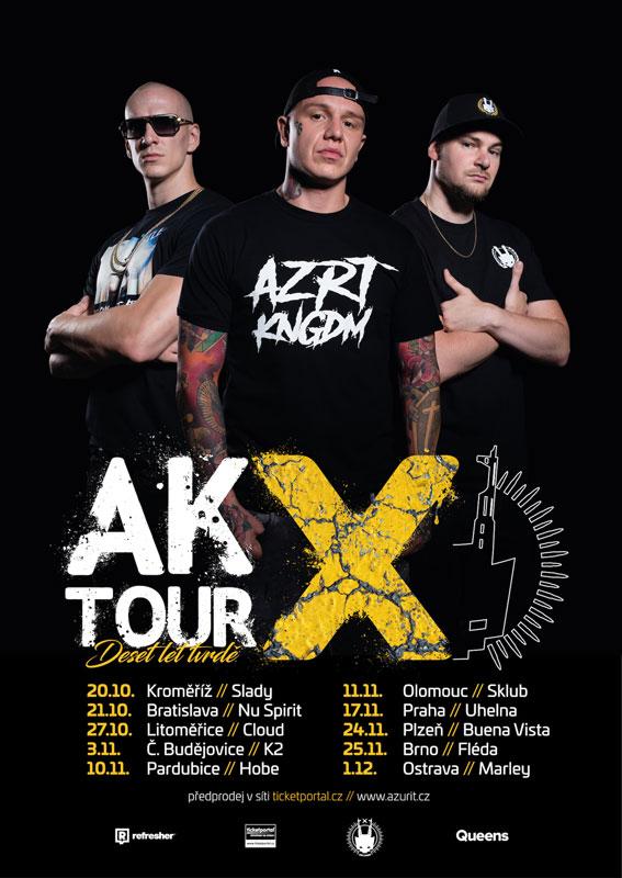 picture AK X Tour - Deset let tvrdě