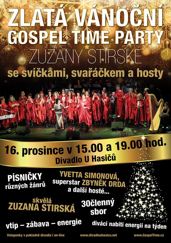 picture Zuzana Stirská - Zlatá vánoční Gospel Time Party
