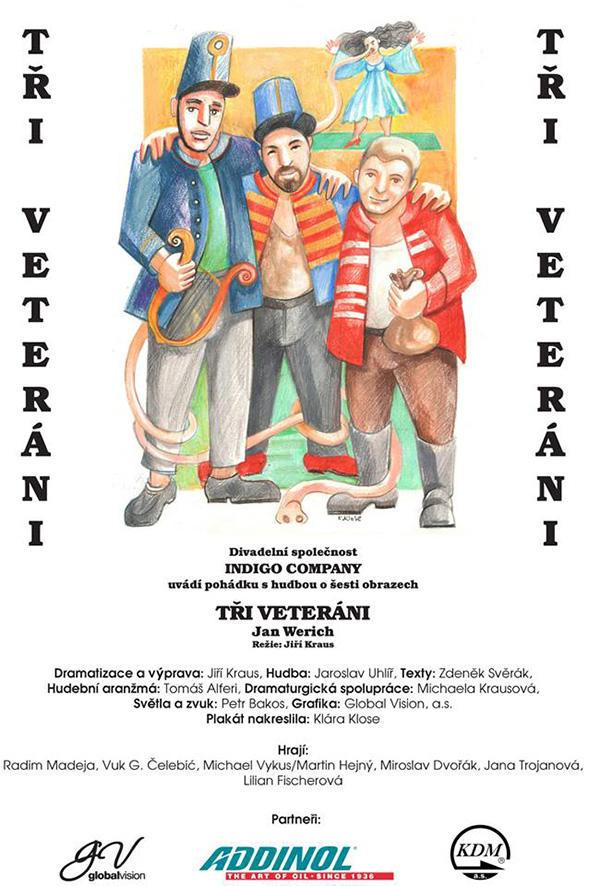 picture Tři veteráni