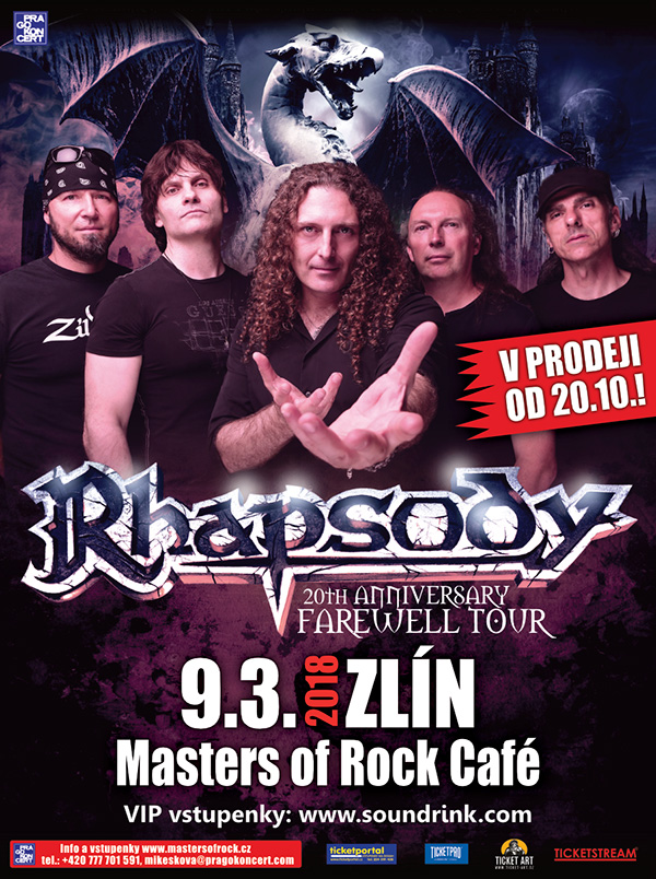 picture RHAPSODY - 20TH ANNIVERSARY FAREWELL TOUR