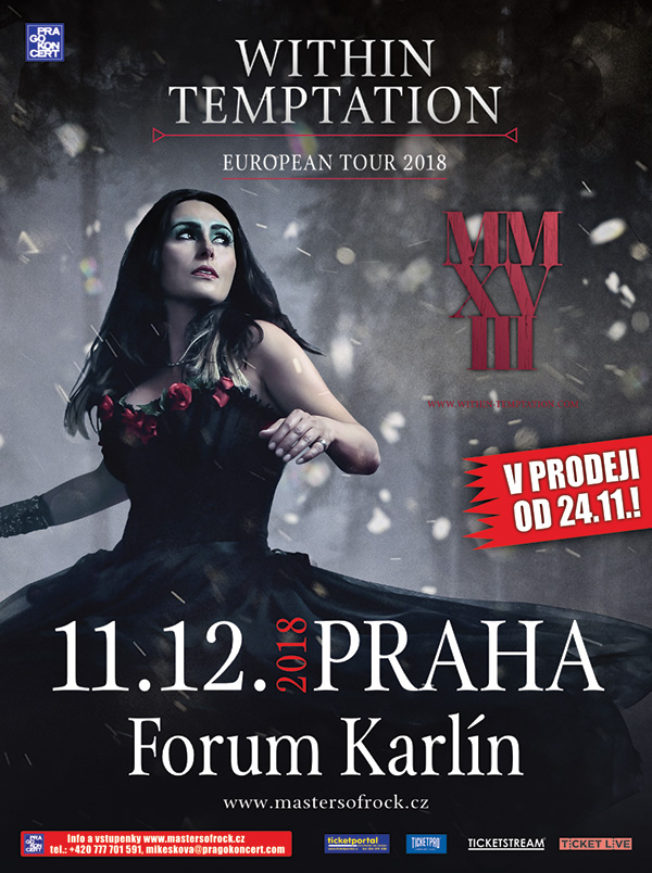 picture WITHIN TEMPTATION (NL) – EUROPEAN TOUR 2018