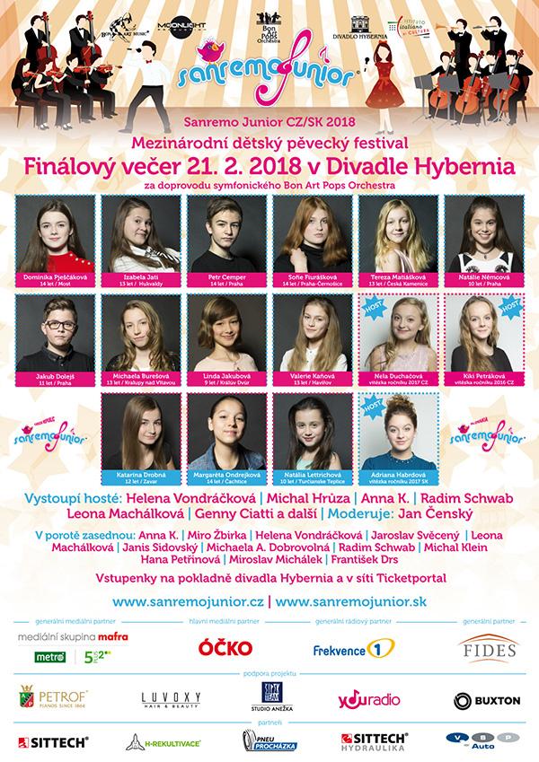 picture Sanremo Junior CZ/ SK - finálový galavečer