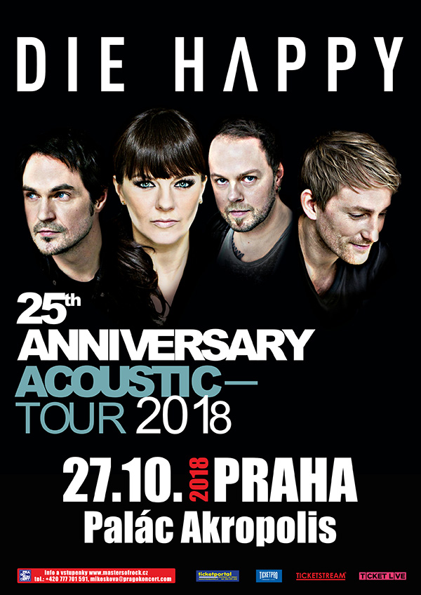 picture DIE HAPPY - 25th Anniversary Acoustic Tour 2018