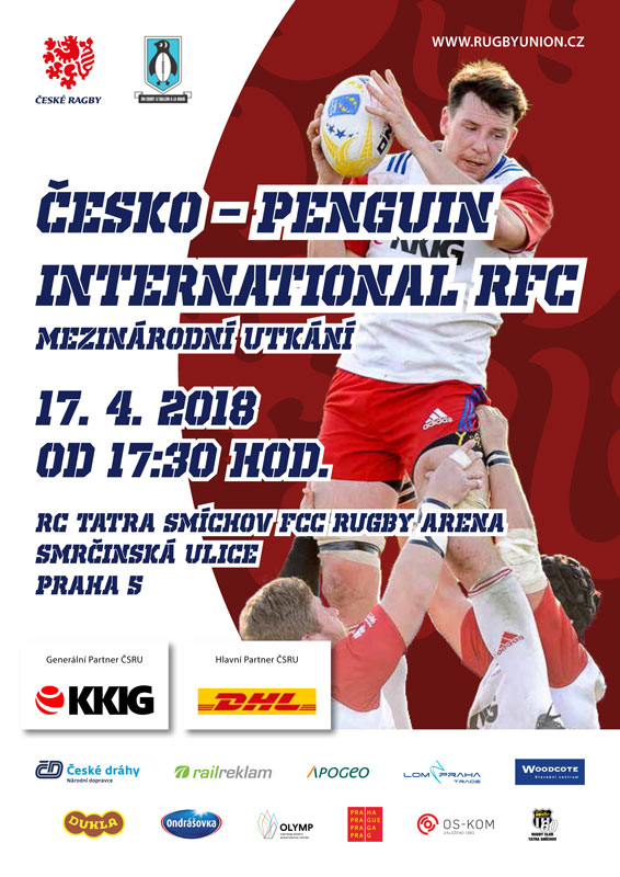 picture Ragby: Česká republika vs. Penguin RFC