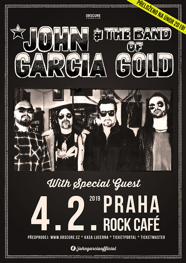 picture JOHN GARCIA & THE BAND OF GOLD (USA)