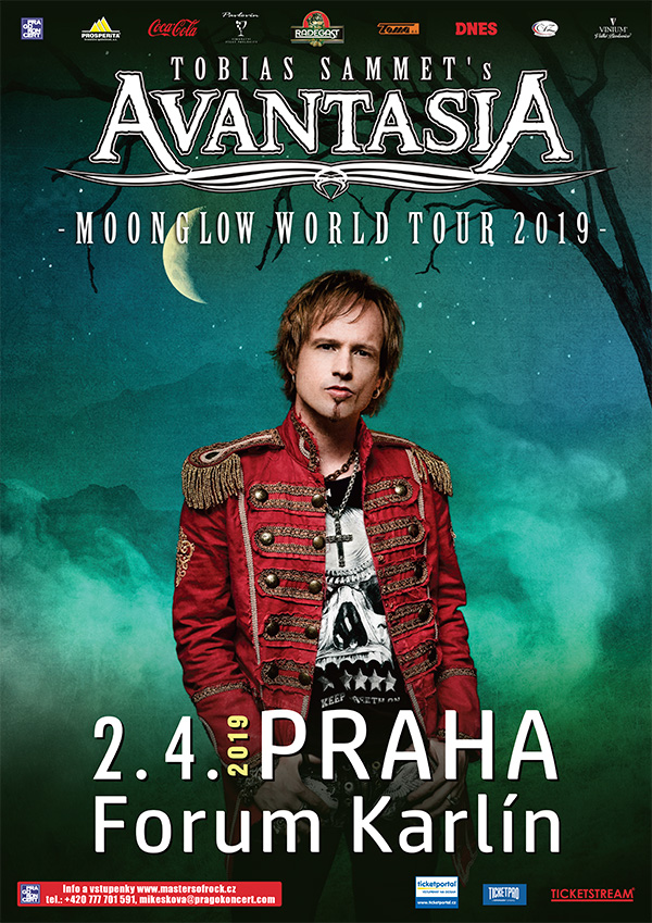 picture AVANTASIA - MOONGLOW WORLD TOUR 2019