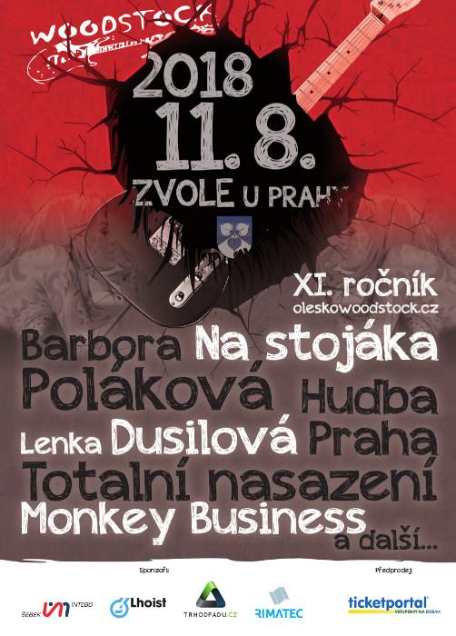picture OLEŠKO U ZVOLE WOODSTOCK 2018