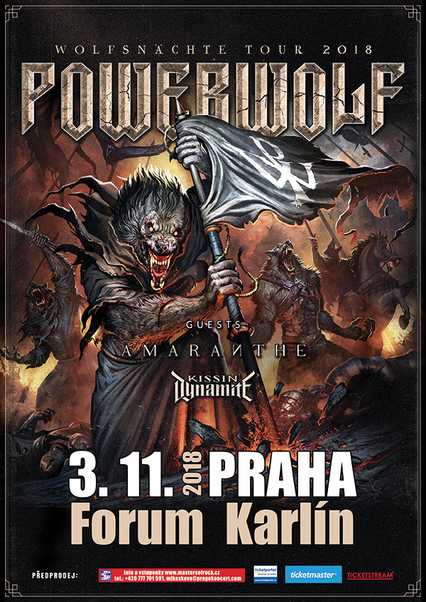 picture POWERWOLF (DE) - WOLFSNÄCHTE TOUR 2018