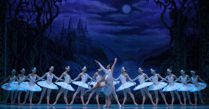 picture RUSSIAN CLASSICAL BALLET - LABUTÍ JEZERO