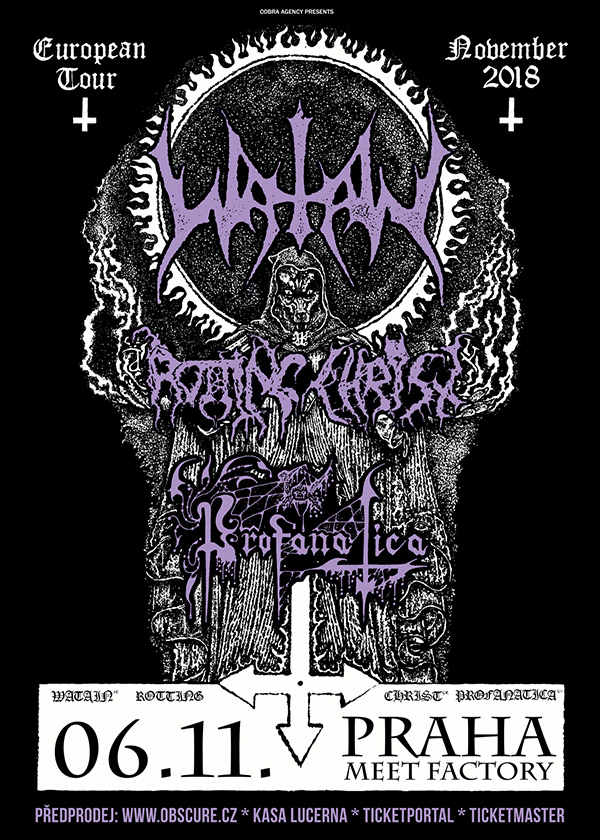 picture WATAIN (SE) - EUROPEAN TOUR 2018