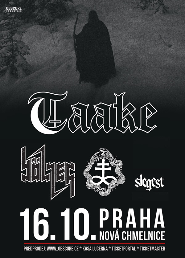 picture TAAKE (NO) w/ BÖLZER (CH), OTOH (NO), SLEGEST (NO)