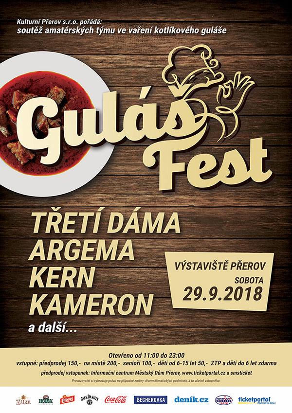picture Gulášfest Přerov 2018