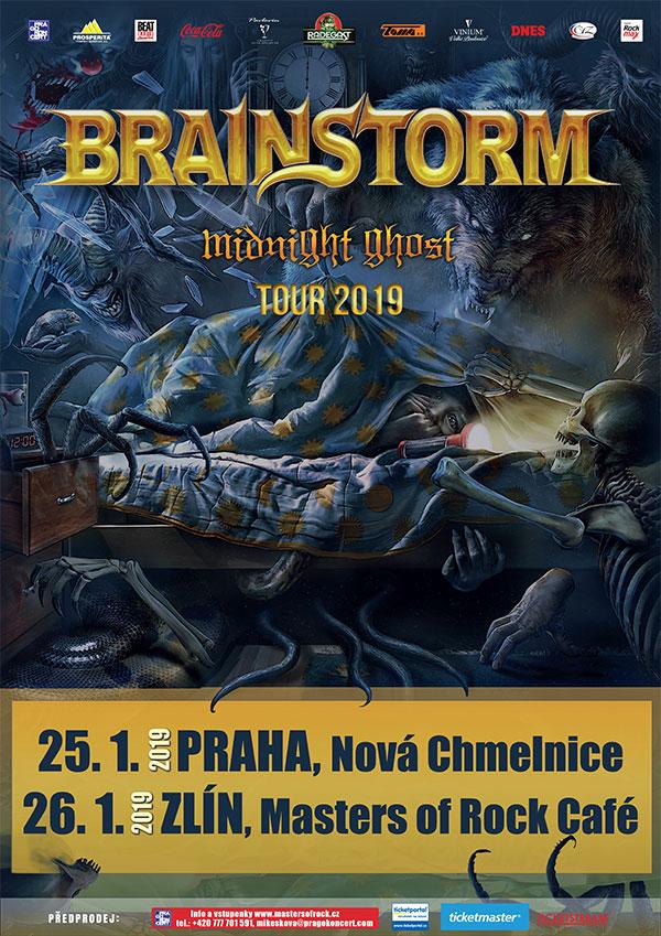 picture BRAINSTORM (DE) - MIDNIGHT GHOST TOUR