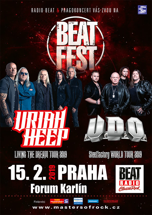 picture BEATFEST – URIAH HEEP (UK) & U.D.O. (DE)